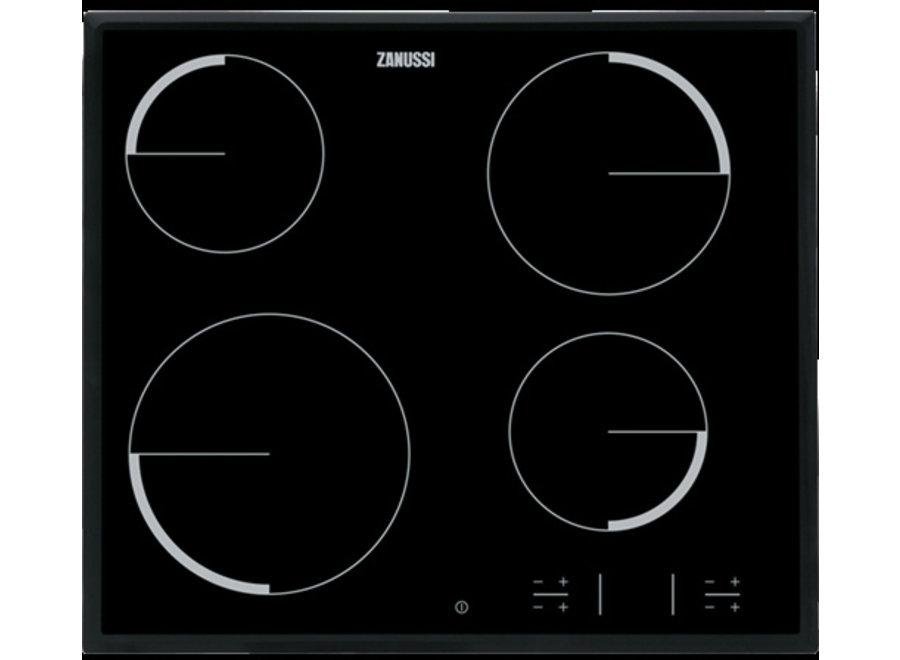 Zanussi ZEV6340NBA Inbouw Keramische Kookplaat 60 cm
