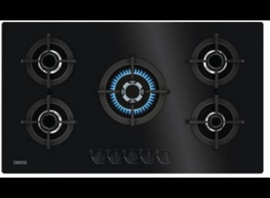 Zanussi ZGO98520BA Inbouw Gaskookplaat 90 cm