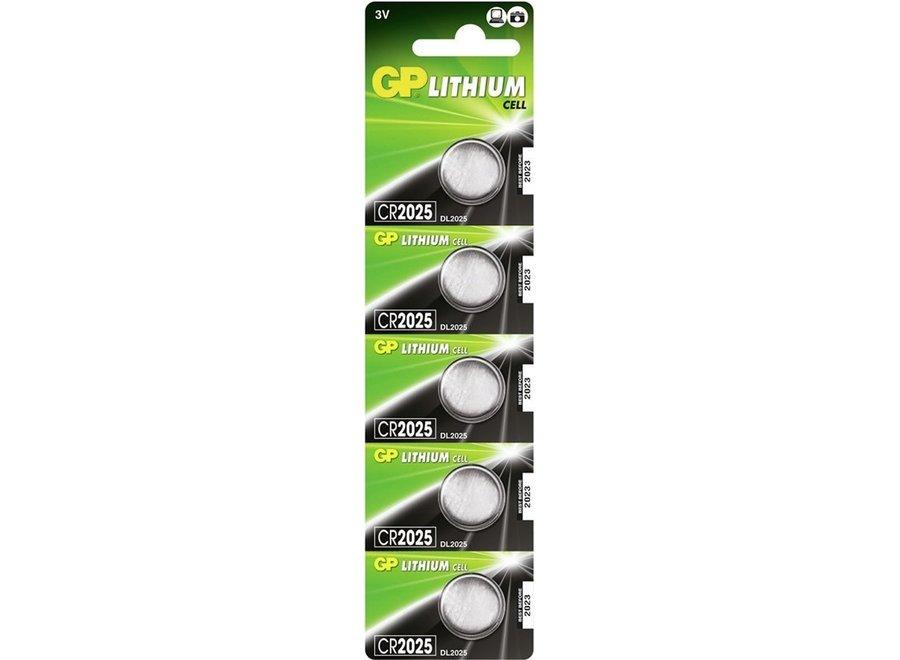 GP CR2025 batterij