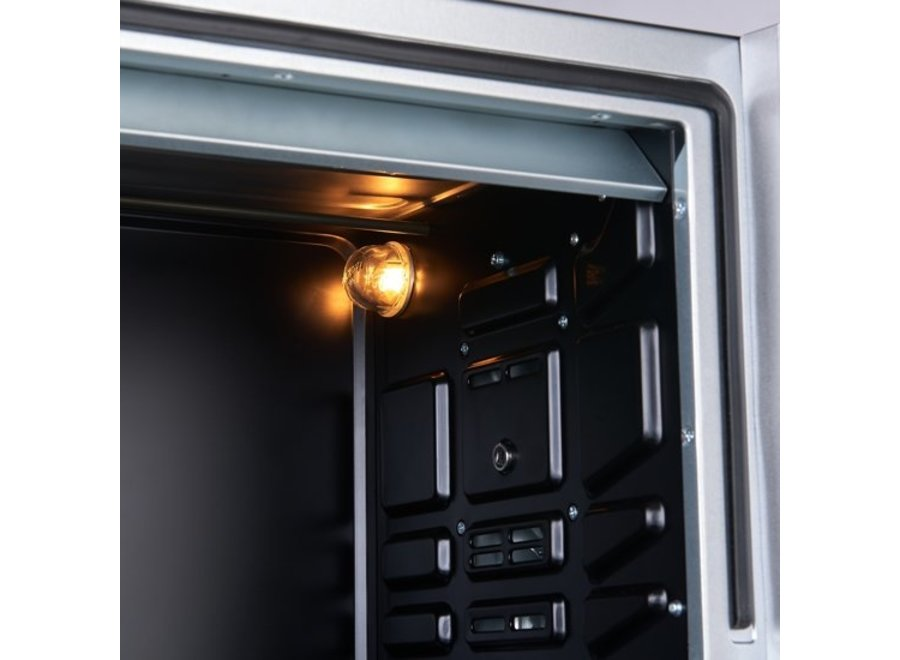 Inventum OV366CS Oven Hetelucht Draaispit