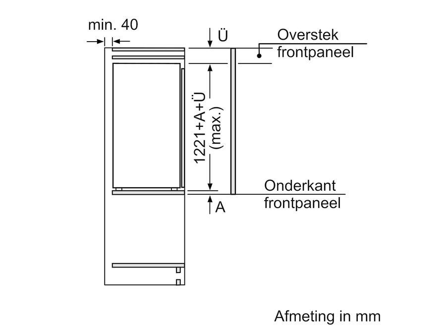 Siemens KI41RADD0 Inbouw koelkast