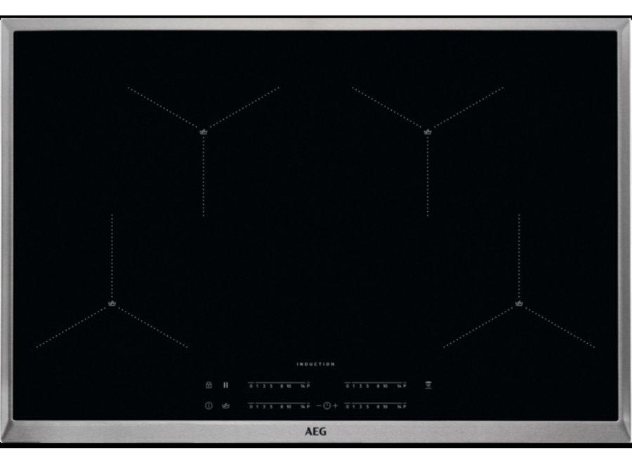 AEG IAE84411XB Inbouw Inductie Kookplaat 80 cm