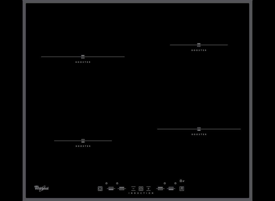Whirlpool ACM 750/BA Inbouw Inductie Kookplaat 58 cm