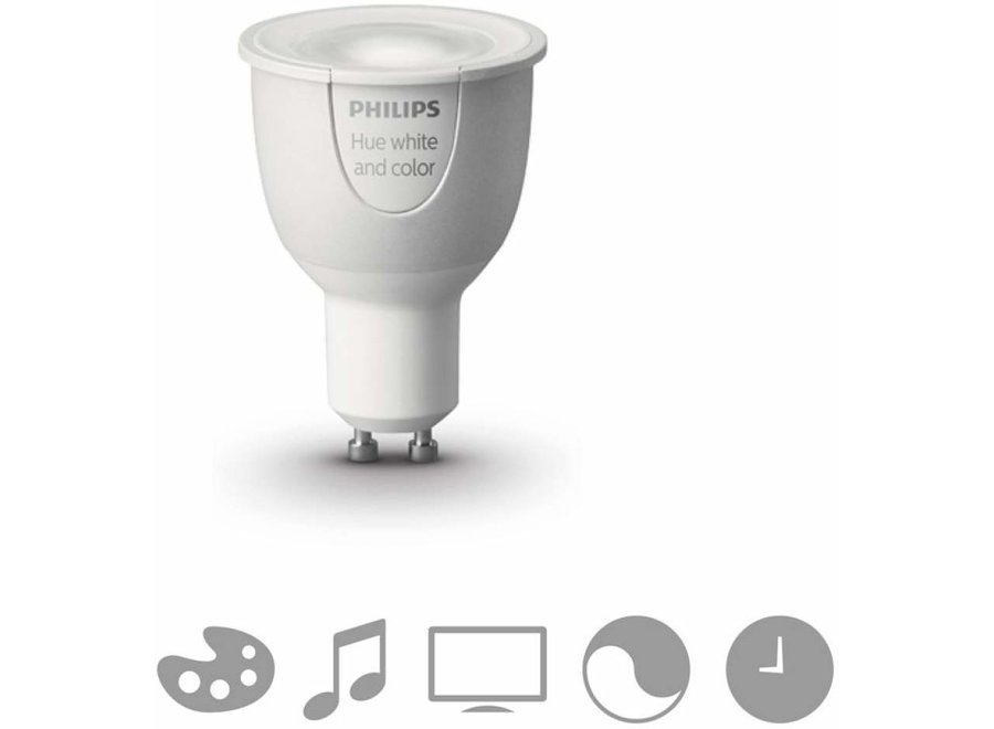 Philips Hue White and Color GU10 Single Pack