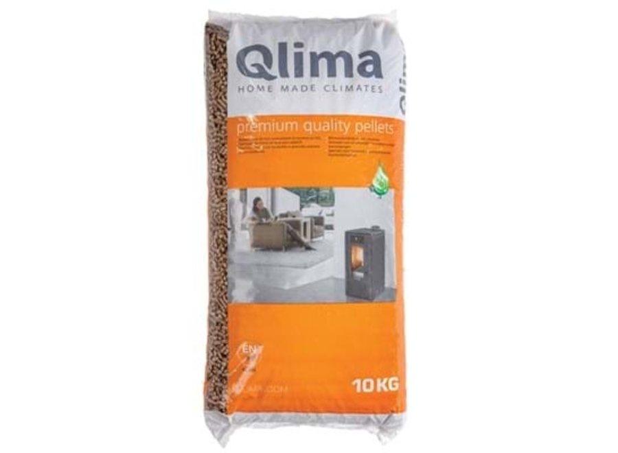 Qlima Pellets 10KG voor Pelletkachels