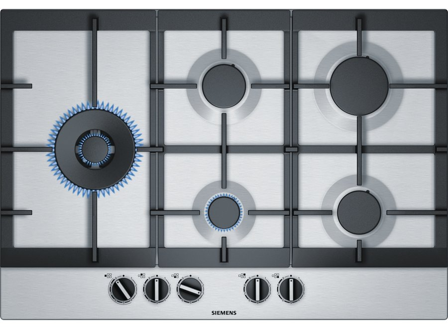 Siemens EC7A5SC90N Inbouw Gaskookplaat 75 cm