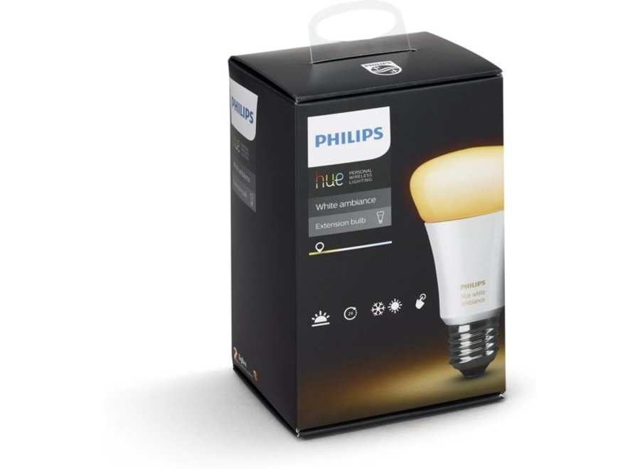Philips Hue White Ambiance E27 Single Pack