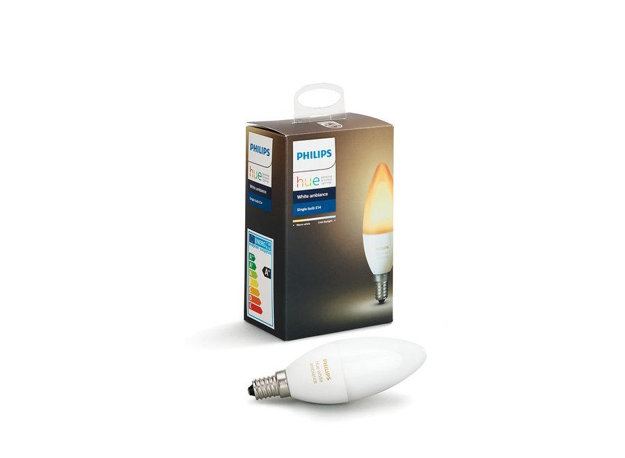 Philips Hue White Ambiance E14 Single Pack