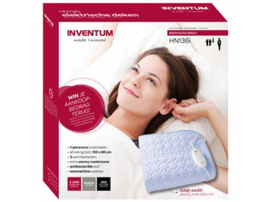 Inventum HN136I 150x80 cm elektrisch deken