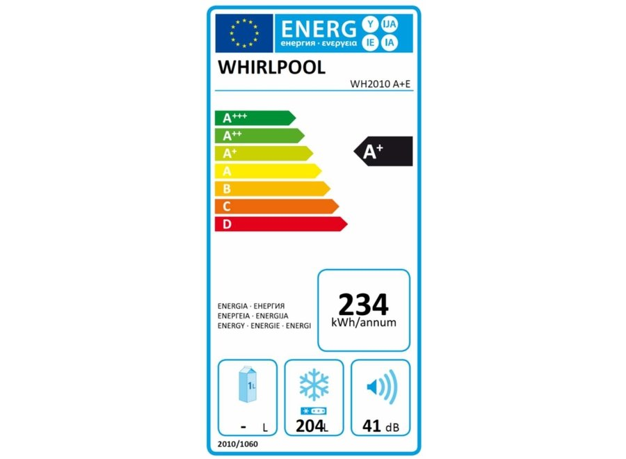 Whirlpool WH2010A+E - Vrieskist