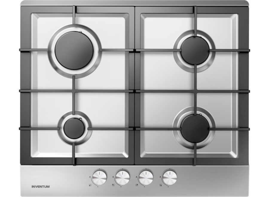 Inventum IKG6023GRVS Inbouw Gaskookplaat
