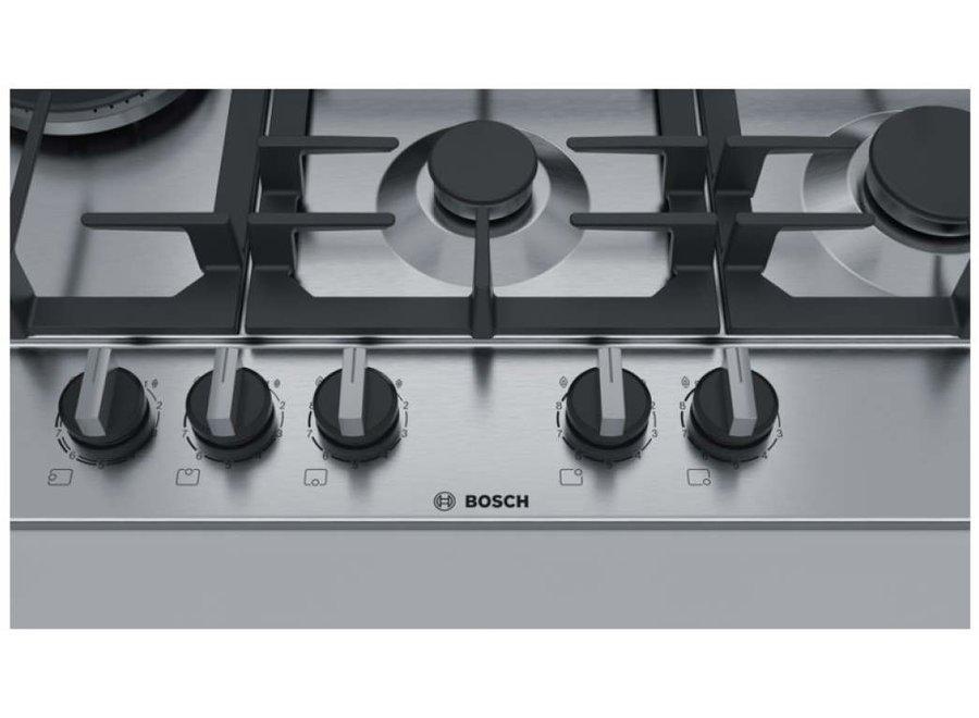 Bosch PCS7A5C90N Inbouw Gaskookplaat 75 cm