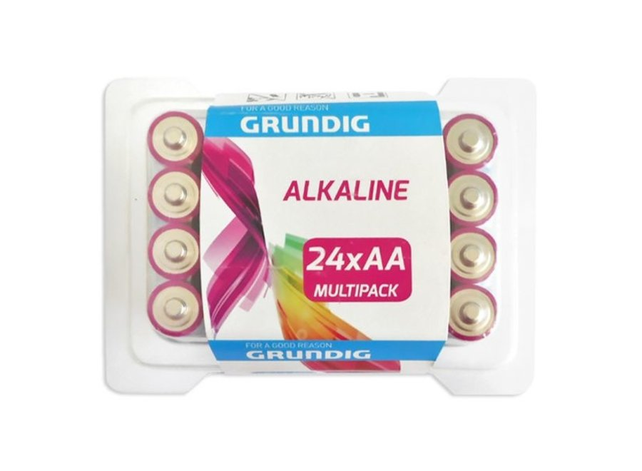 Grundig Alkaline AA 24 stuks blister