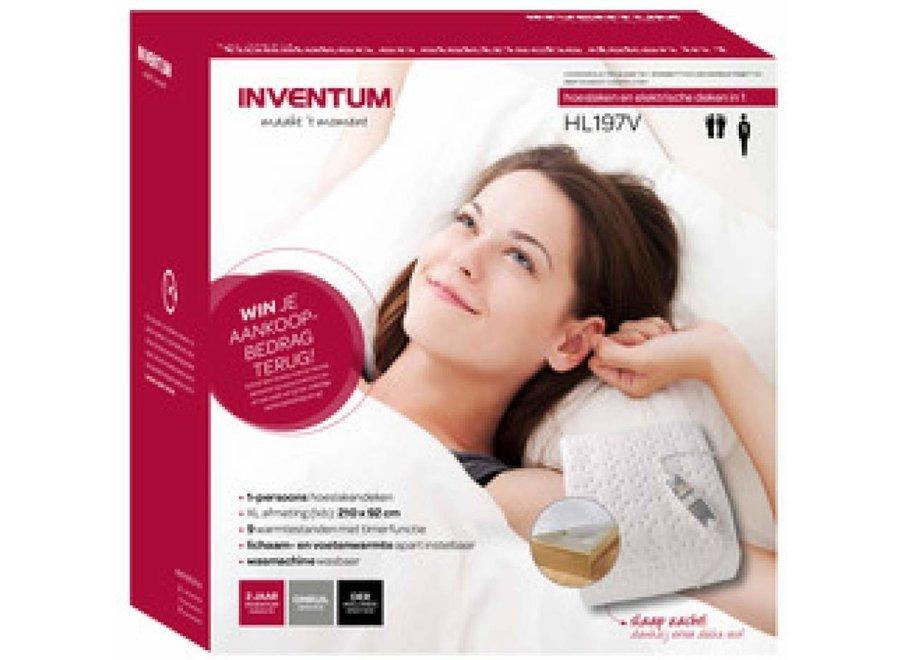 Inventum HL197V 210x92 cm elektrisch deken