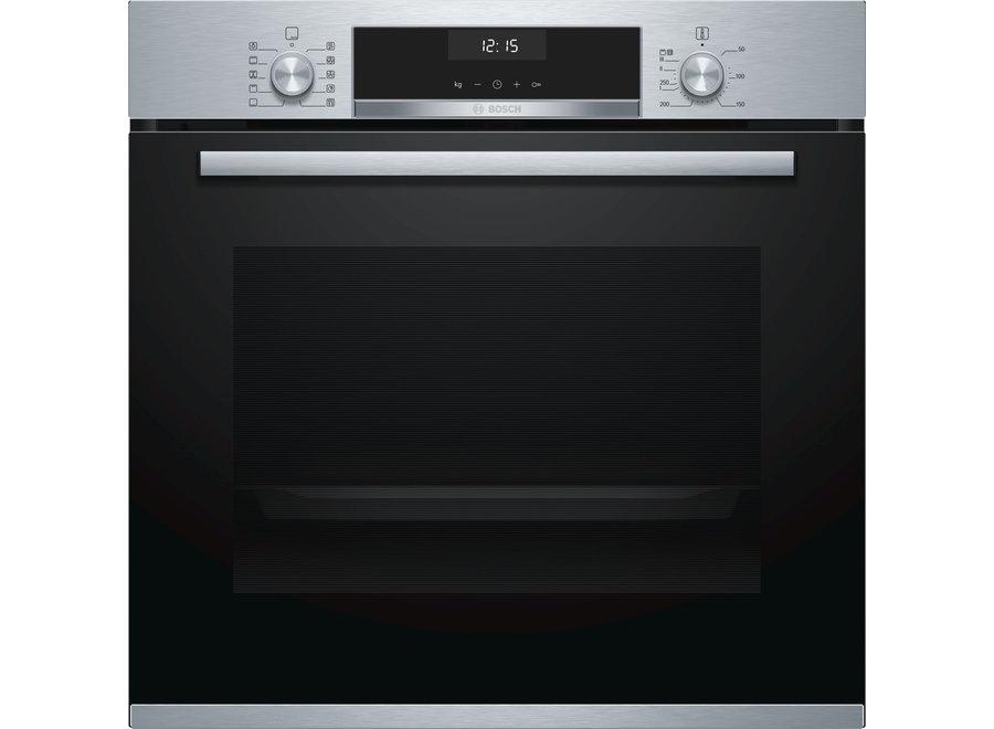Bosch HBA537BS0 Serie 6 - Inbouw oven - RVS Zwart