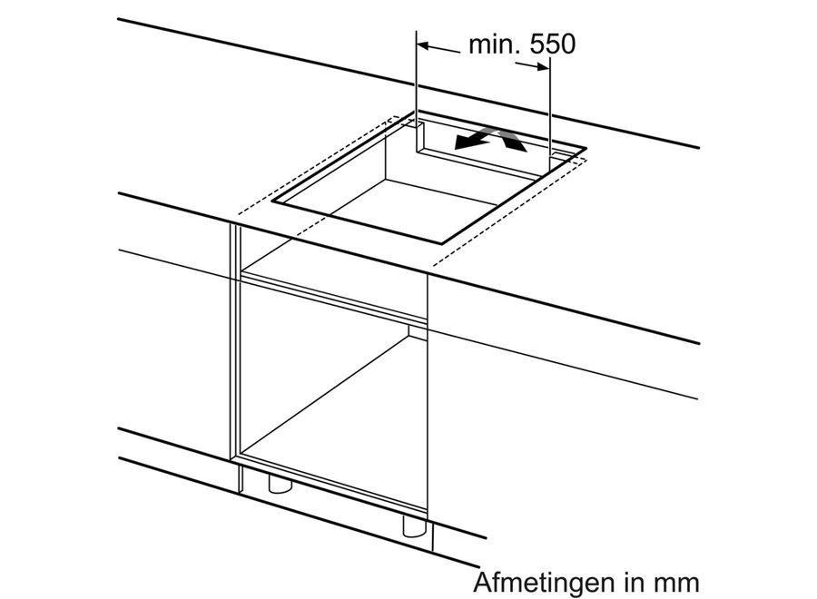 Siemens ED751FSB5E Inbouw Inductie Kookplaat 70cm Flex