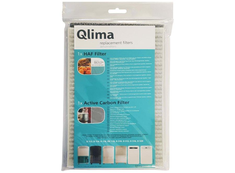 Qlima filterset ontvochtigen geschikt voor D1.. en D5.. serie