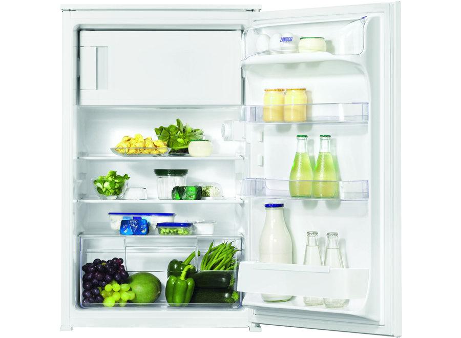 Zanussi ZBA14421SA Inbouw koelkast 88 cm met vriesvak