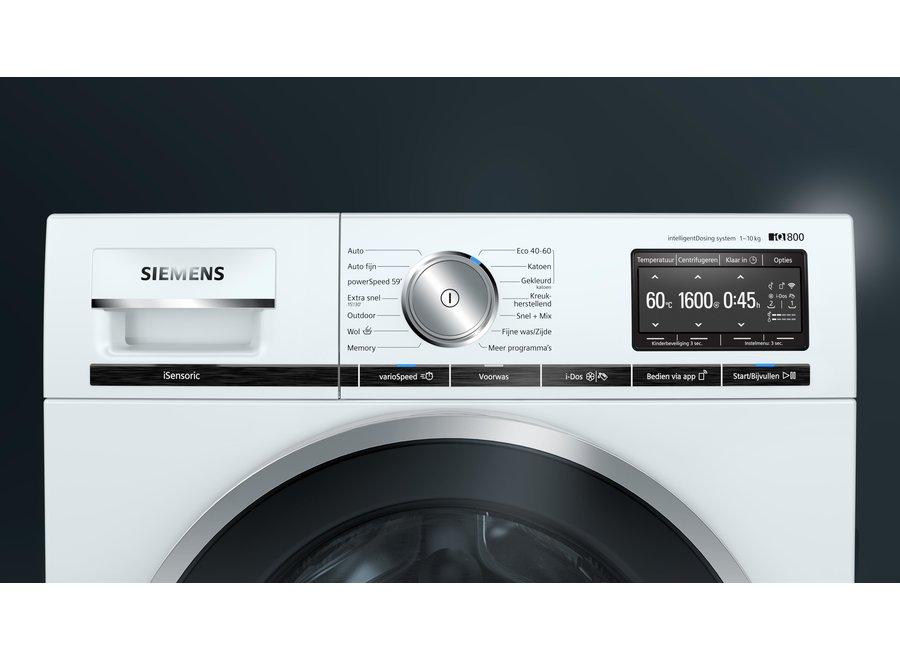 Siemens WM6HXE70NL IntelligentDosing Wasmachine