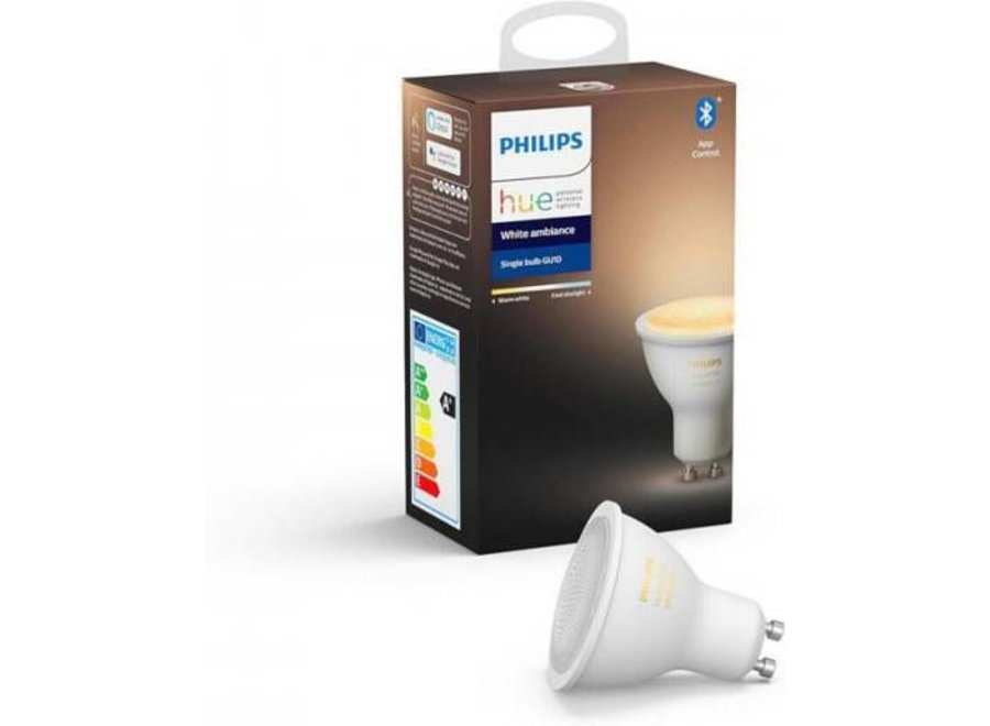 Philips Hue White Ambiance GU10 Single Pack (Bluetooth)