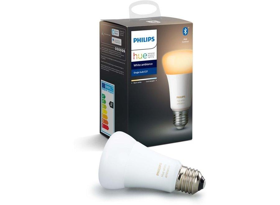 Philips Hue White Ambiance E27 Single Pack (Bluetooth)