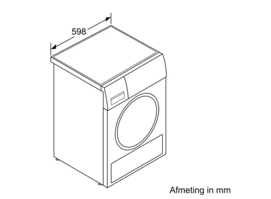 Bosch WTXH8E90NL Homeprofessional Warmtepompdroger