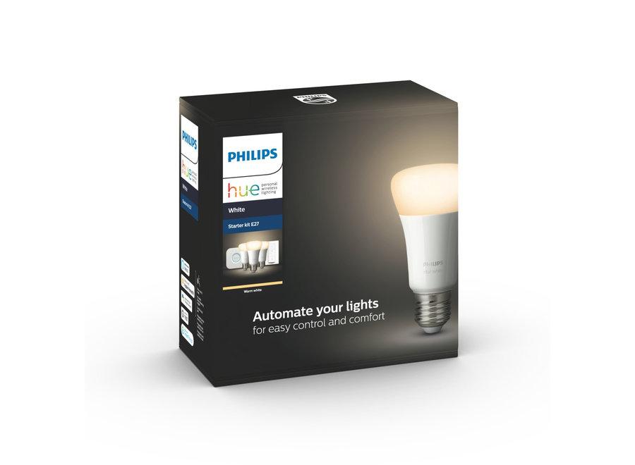 Philips Hue White Starter Kit E27 met dimmer