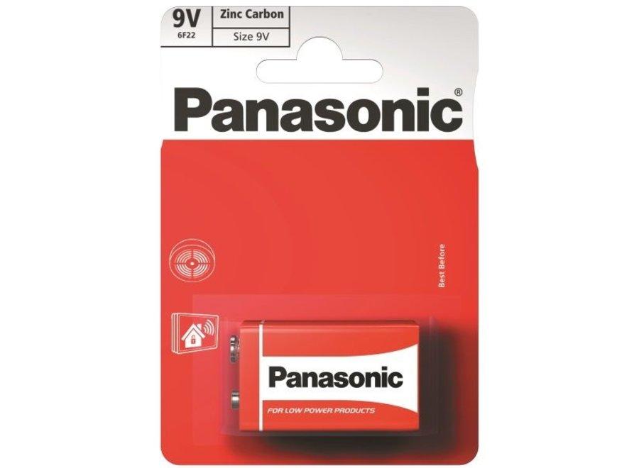 Panasonic 9Volt Batterijen 6F22RZ1BP