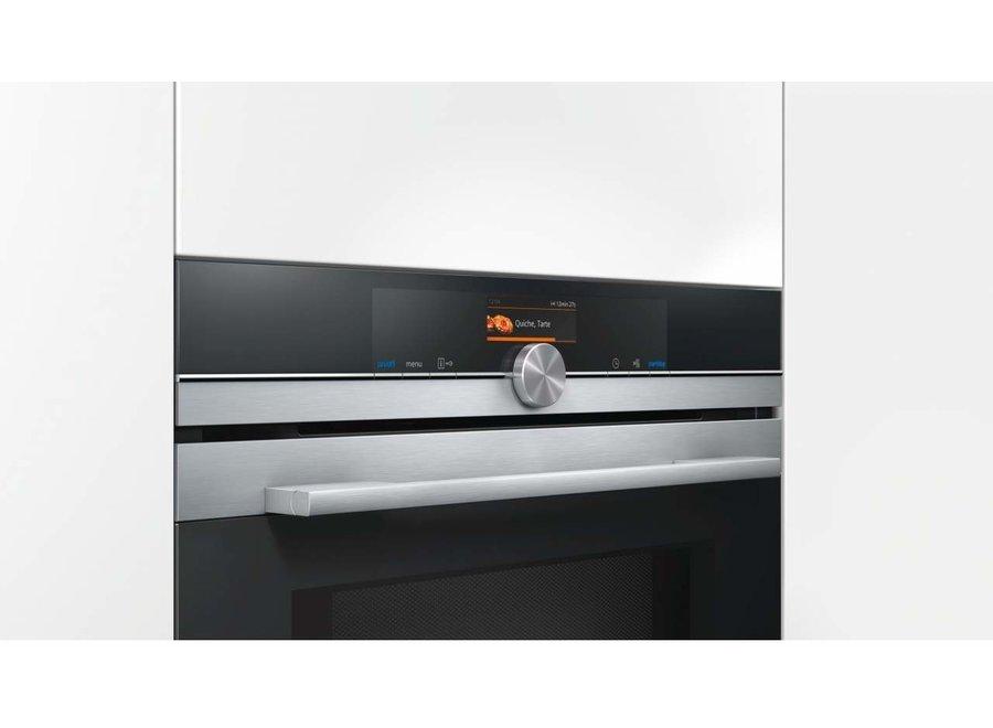 Siemens CM656NBS1 Inbouw oven met magnetron 45cm