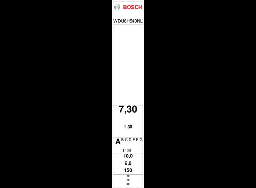 Bosch WDU8H540NL Was-droogcombinatie