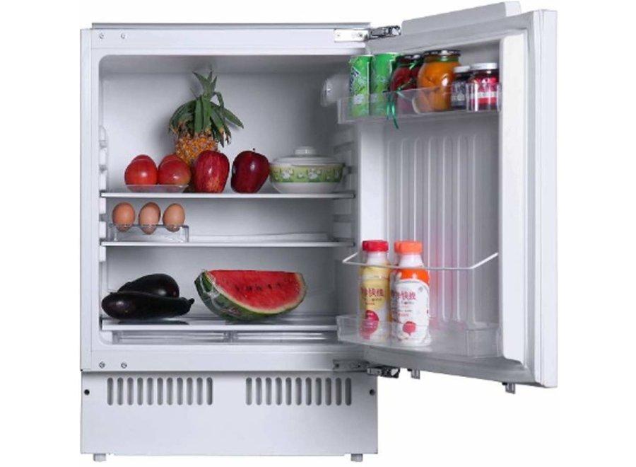 Exquisit UKS140-8 RVA+ Inbouw koelkast 88 cm met vriesvak