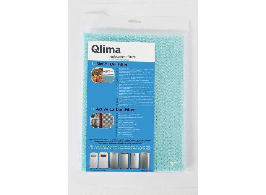 QLIMA/TECTRO filterset voor tectro 1020/2020/2520 en Qlima P24