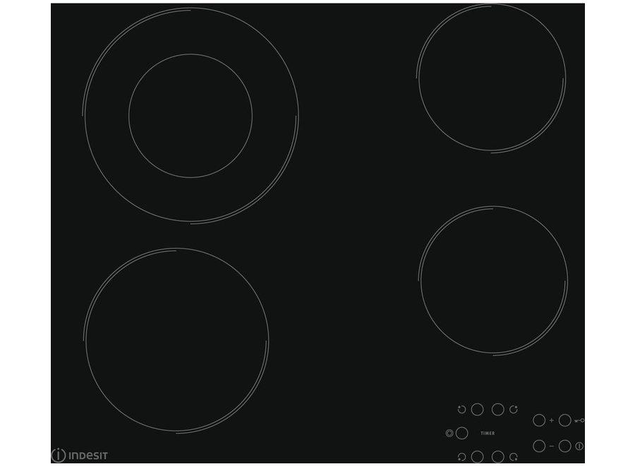 Indesit RI260C Inbouw Keramische Kookplaat 60 cm