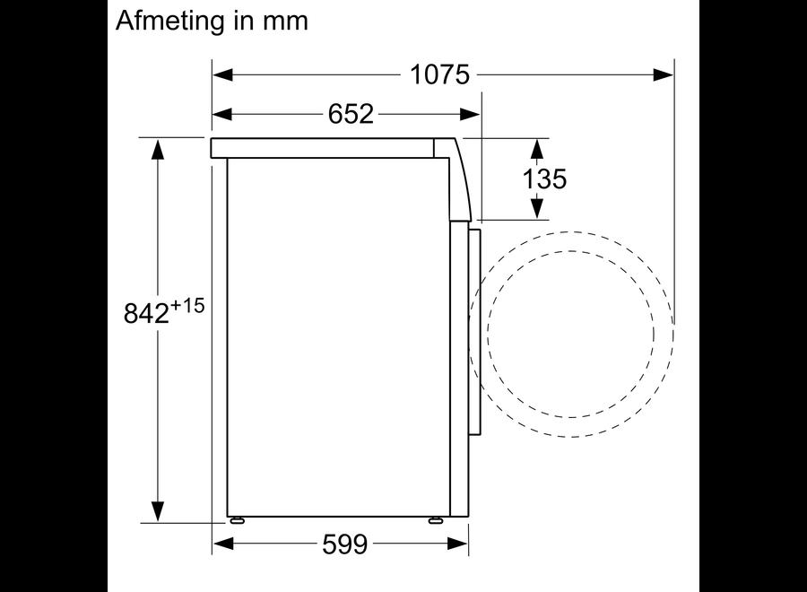 Siemens WT46G492NL ExtraKlasse  Condensdroger