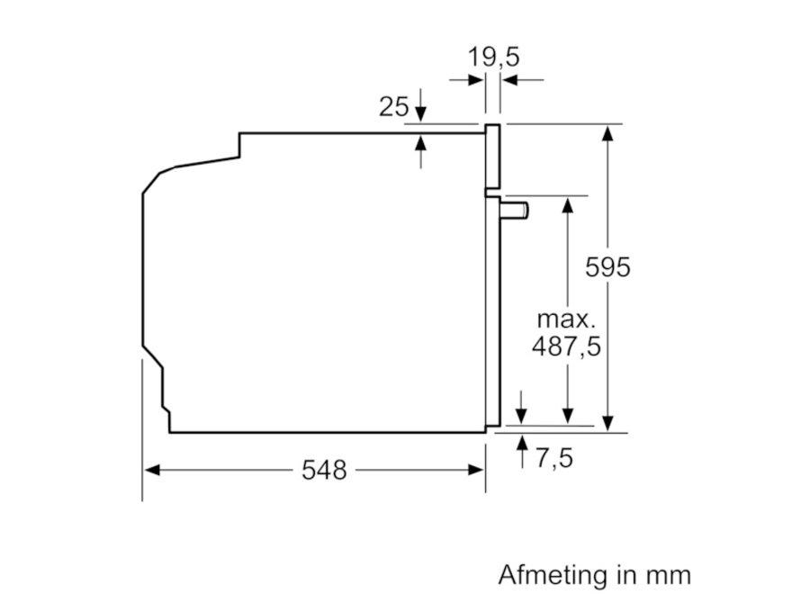Siemens HB578BBS6 Inbouwoven