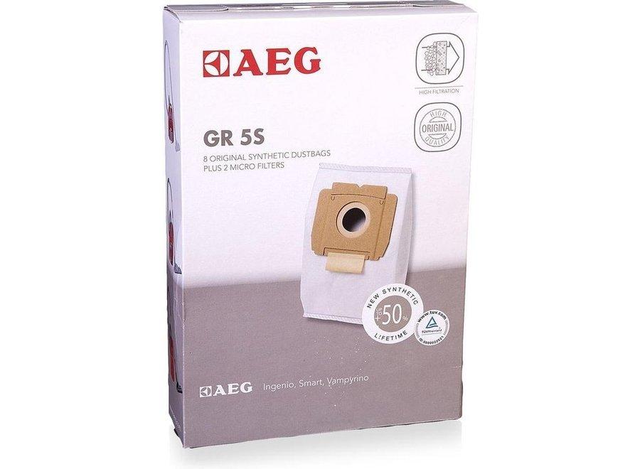 AEG GR5S 8 stuks stofzuigerzakken