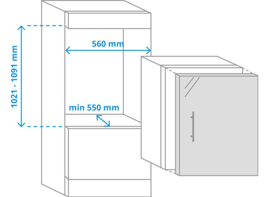 Siemens KI20LNFF0 Inbouw koelkast met vriesvak