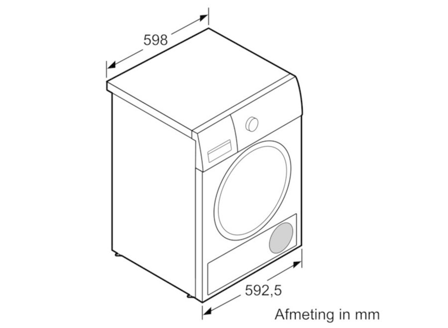 Siemens WT43N292NL ExtraKlasse Condensdroger