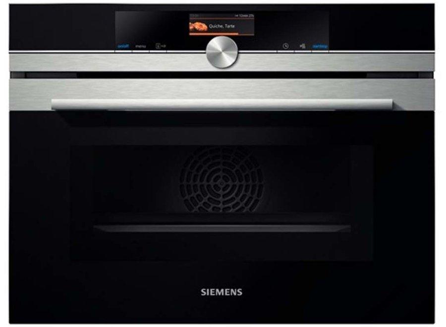 Siemens CM636GBS1 Inbouw oven met magnetron 45cm