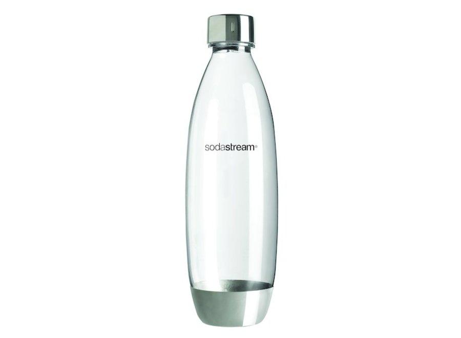 SodaStream Fuse Fles Metal 1 Liter