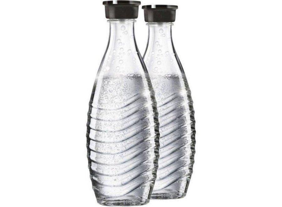 SodaStream Glazen karaf Duopack 0,7ltr Voor Sodastream Crystal