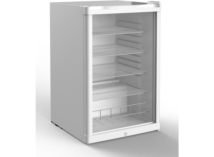 Husky KK110-WH-NL-HU Glasdeur koelkast