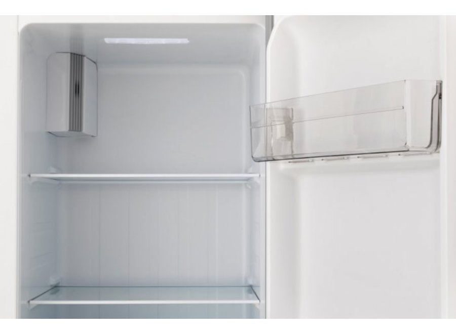 Exquisit SBS130-4A+ Wit Amerikaanse koelkast