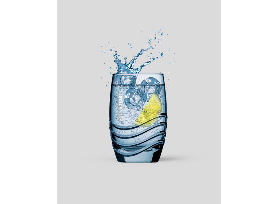 SodaStream Box met 4 iconic glazen