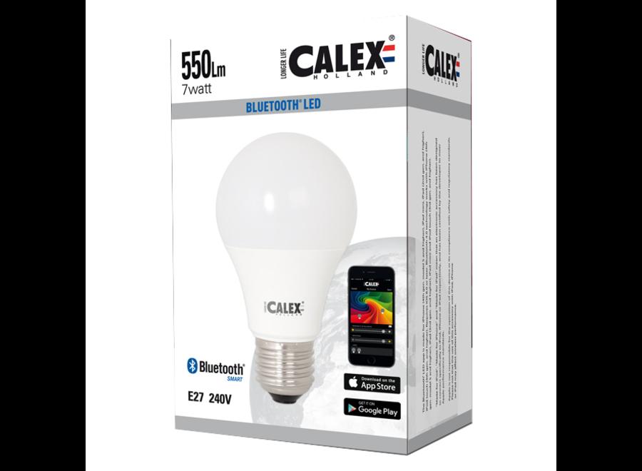 Calex Bluetooth E27 Multicolour Smart LED Lamp