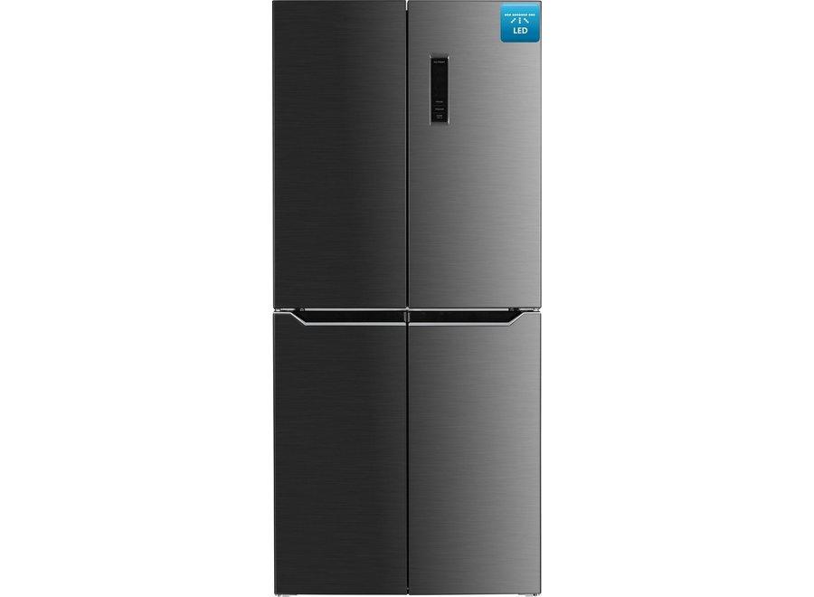Frilec BONN-MD442-135-040FDI Amerikaanse koelkast