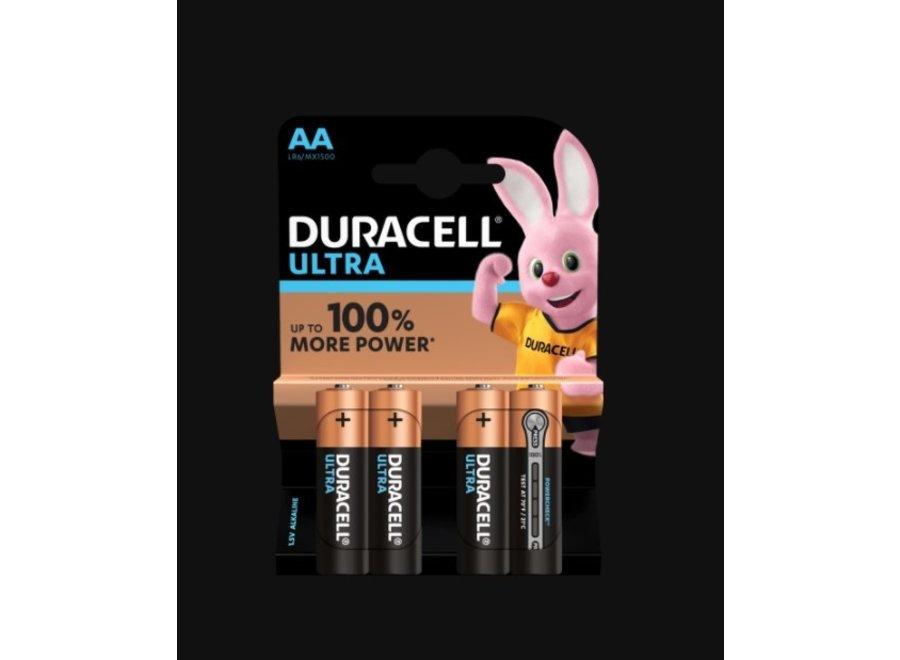 Duracell Ultra Power AA Alkaline Batterijen