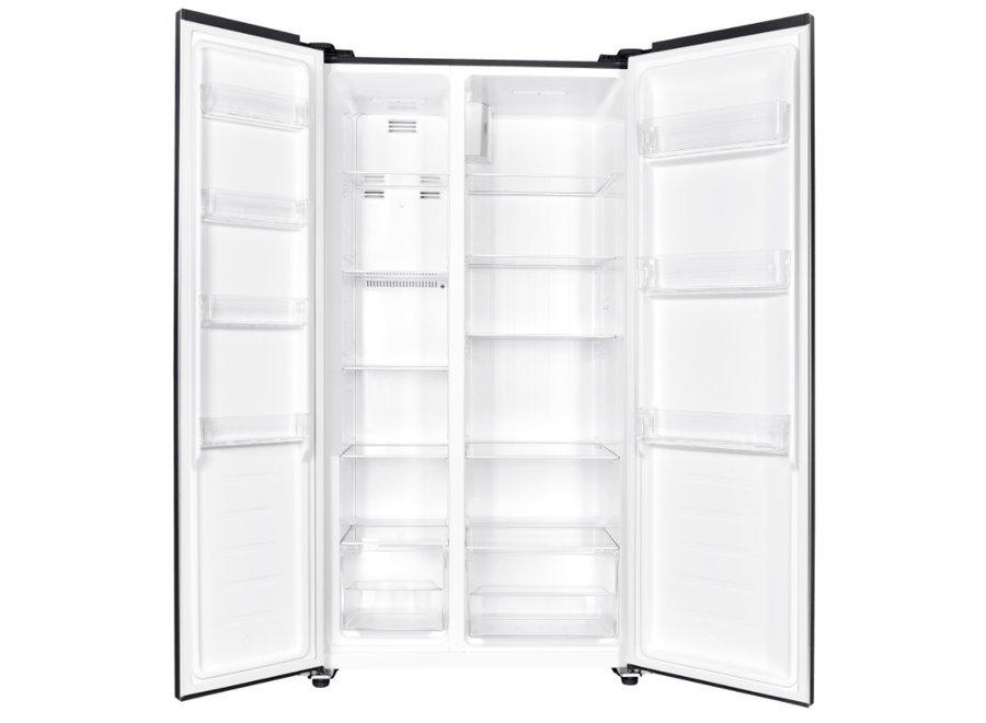 Exquisit SBS236-040FBLACK Amerikaanse koelkast
