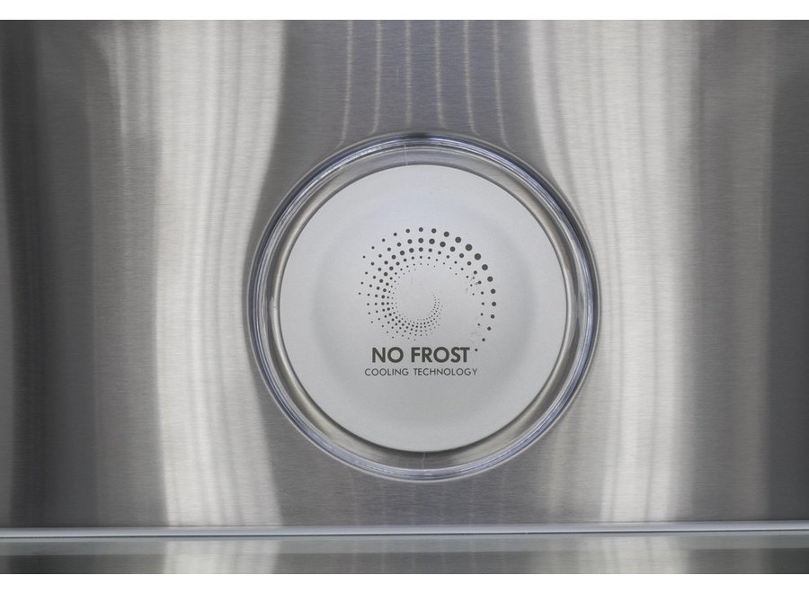 Frilec BONN-MD452-135-040FDI Amerikaanse koelkast
