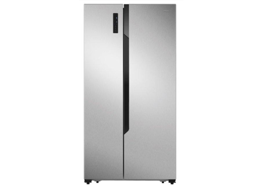 Etna AKV178RVS Amerikaanse koelkast